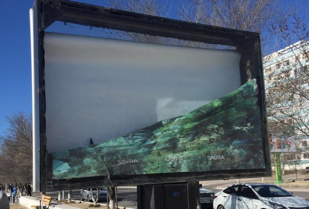 Вандалы снова разгромили набережную и сквер Победы в Актау, фото-2