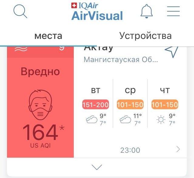 """Экологи прокомментировали информацию о """"белом тумане"""" в Актау, фото-1"""