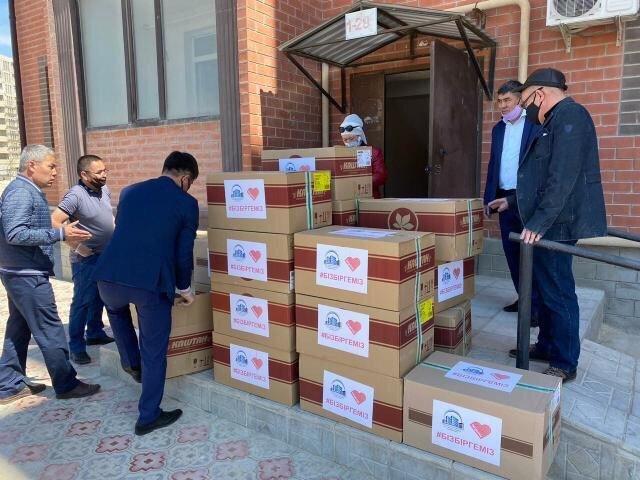 25 нуждающимся семьям в Актау оказали гуманитарную помощь, фото-1