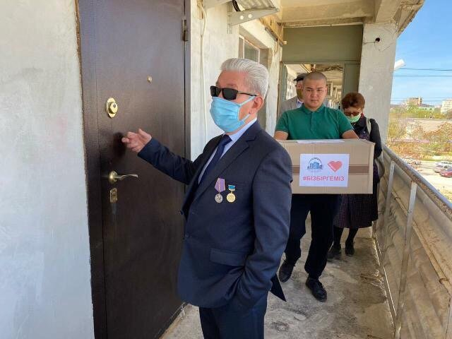 25 нуждающимся семьям в Актау оказали гуманитарную помощь, фото-7