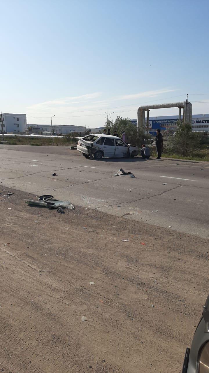 Двое мужчин пострадали в ДТП в Актау, фото-3