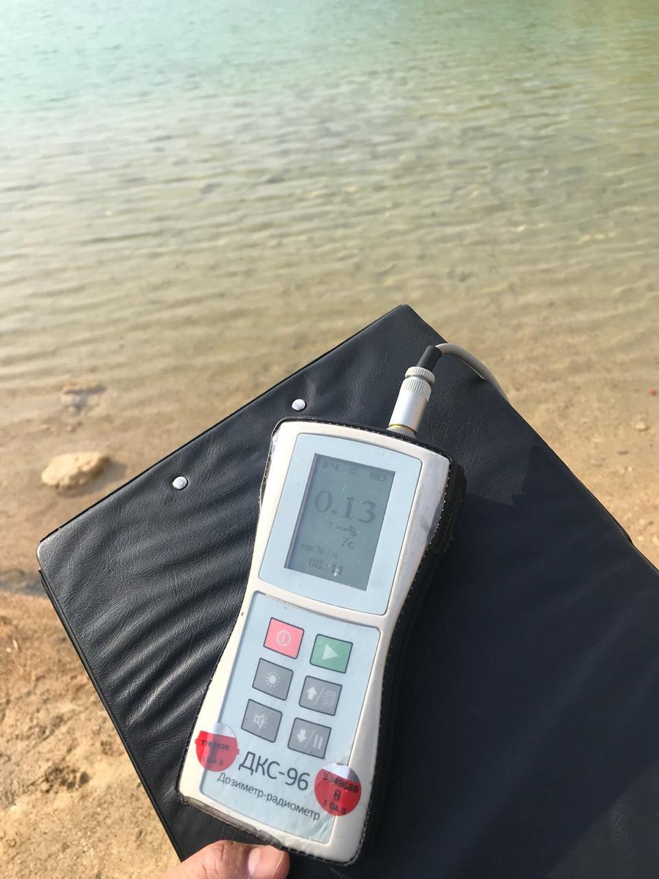 """Озеро у месторождения """"Меловое"""" может представлять опасность для здоровья людей, фото-2"""