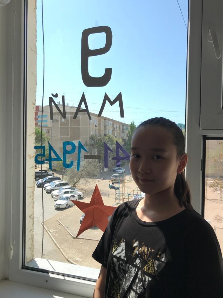 В Актау учителя запустили эстафету ко Дню Победы, фото-6