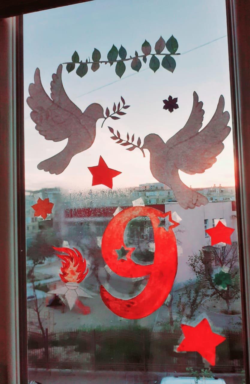 В Актау учителя запустили эстафету ко Дню Победы, фото-1