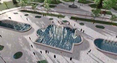 Музыкальный фонтан хотят построить в Жанаозене, фото-1