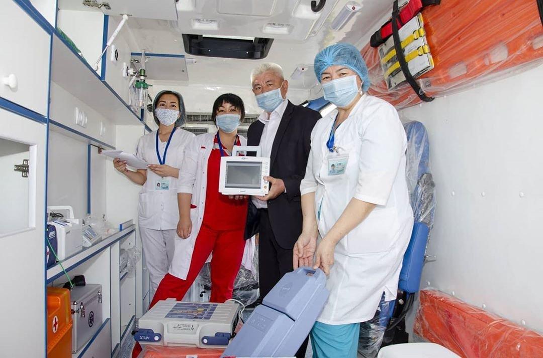20 аппаратов ИВЛ подарили Мангистауской областной больнице, фото-2