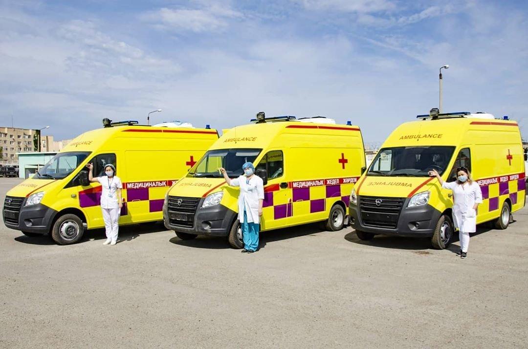 20 аппаратов ИВЛ подарили Мангистауской областной больнице, фото-1