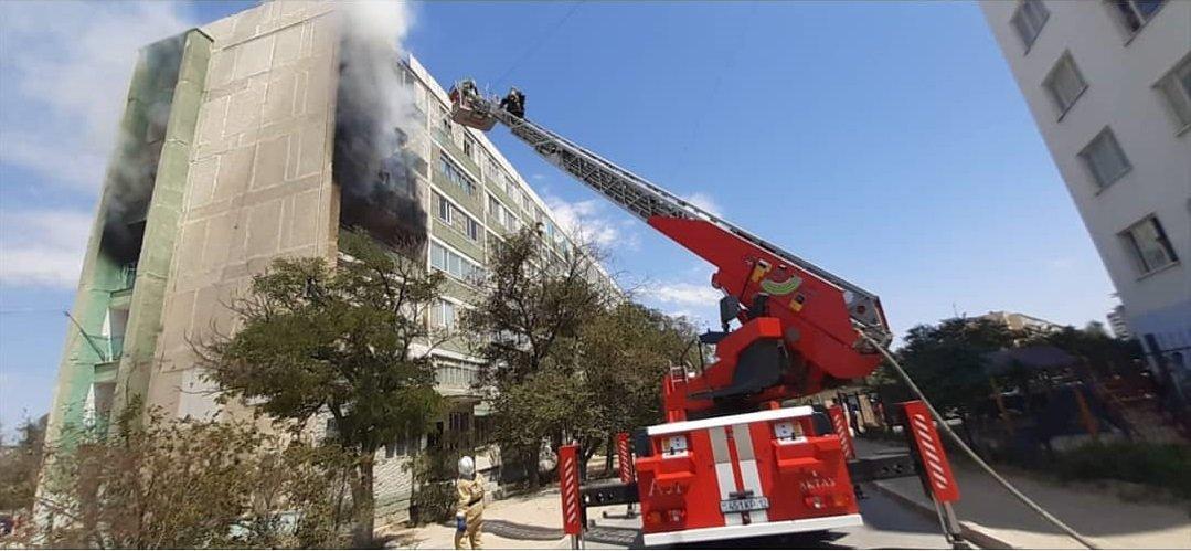 Квартира, ресторан и два авто сгорели в Мангистау за неделю, фото-1