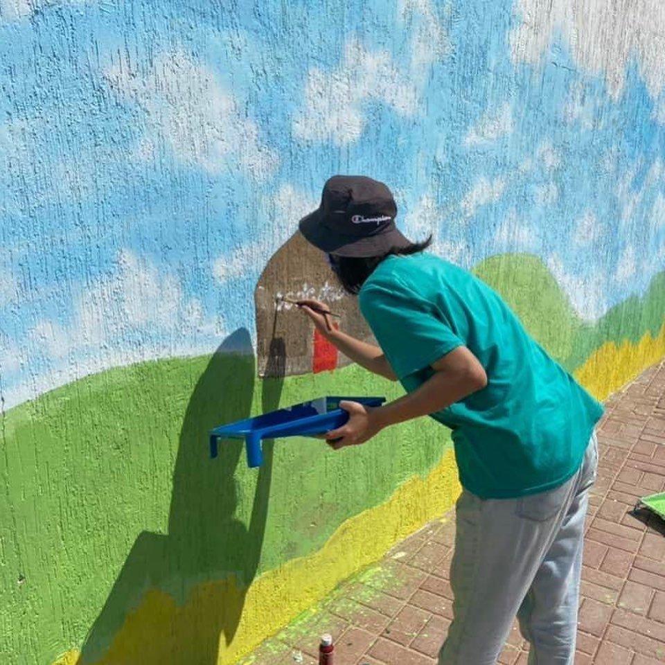 Граффити в честь 175-летия Абая появились на набережной в Актау, фото-3