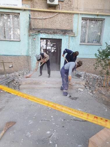 """""""Это незаконно"""": в Актау дом, в котором обрушился козырек, обслуживают сразу две компании, фото-2"""