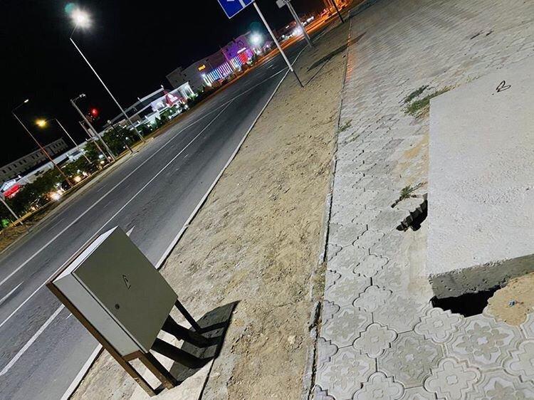 В Актау просела плитка новой пешеходной дорожки  , фото-4