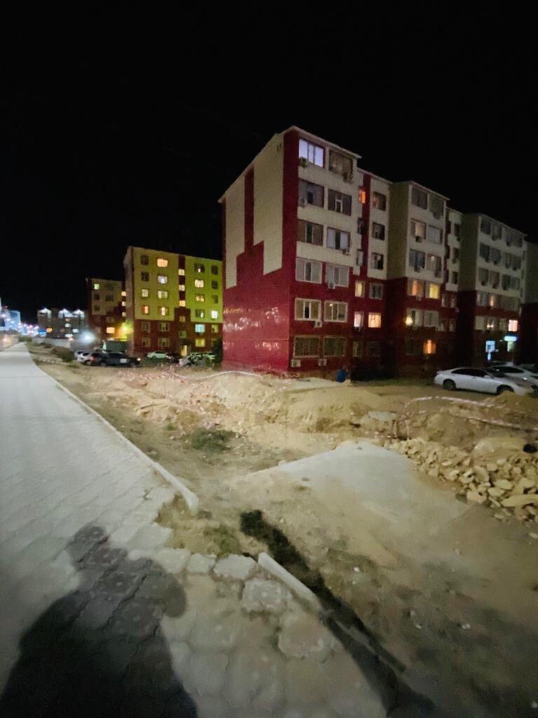 В Актау просела плитка новой пешеходной дорожки  , фото-3