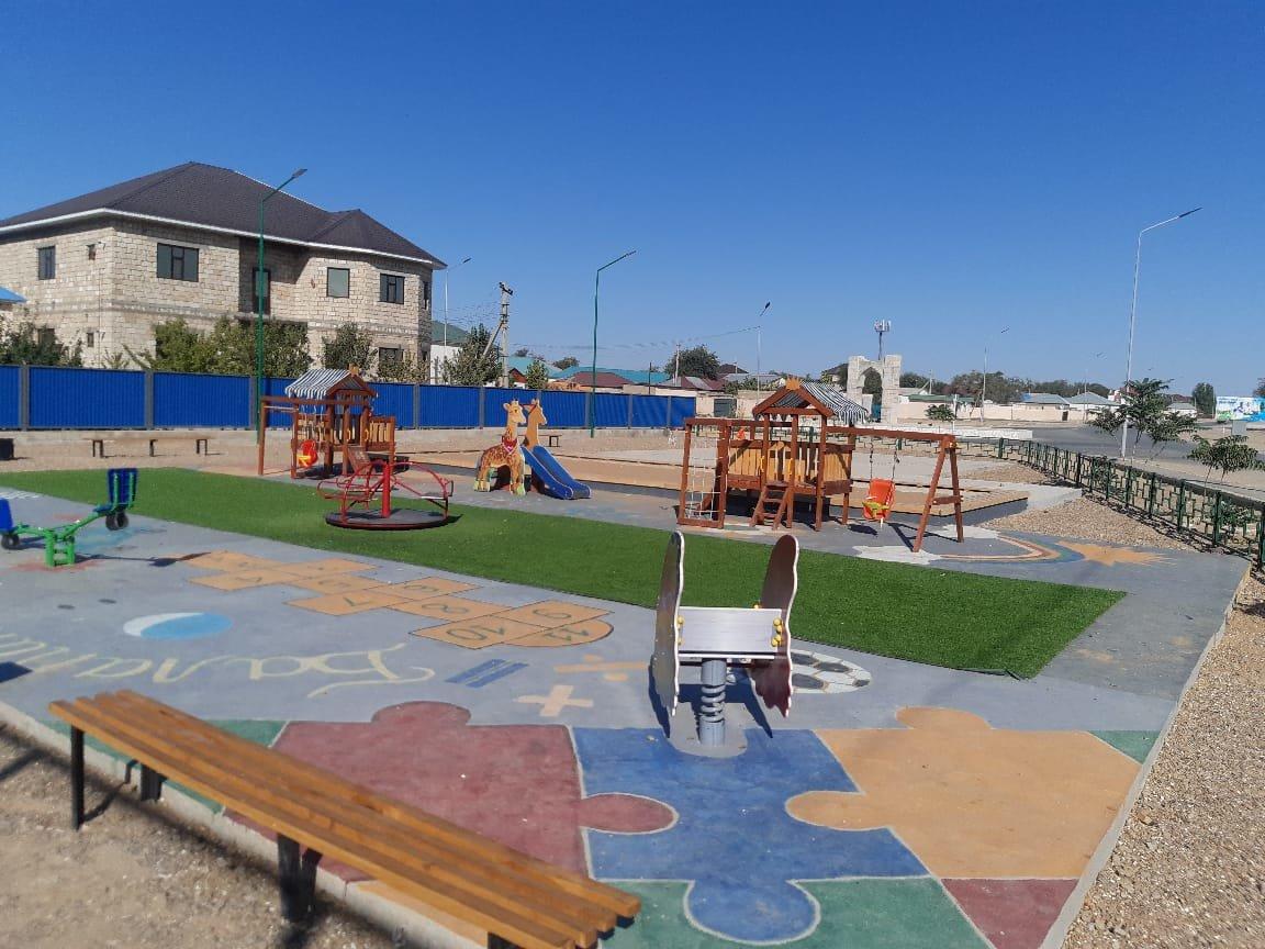 В Бейнеу с помощью сельчан открыли поле для мини-футбола и детскую площадку, фото-1