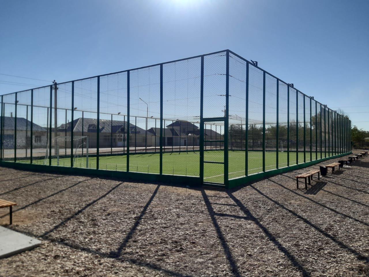 В Бейнеу с помощью сельчан открыли поле для мини-футбола и детскую площадку, фото-2