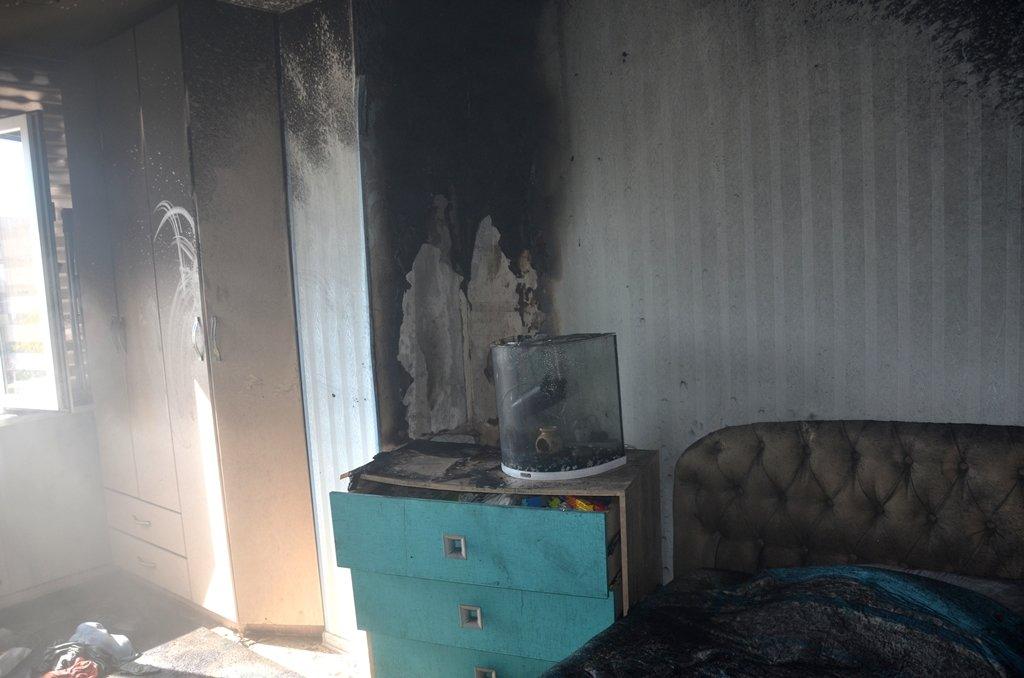 В Актау пожарные вынесли кошку из горящей квартиры, фото-1