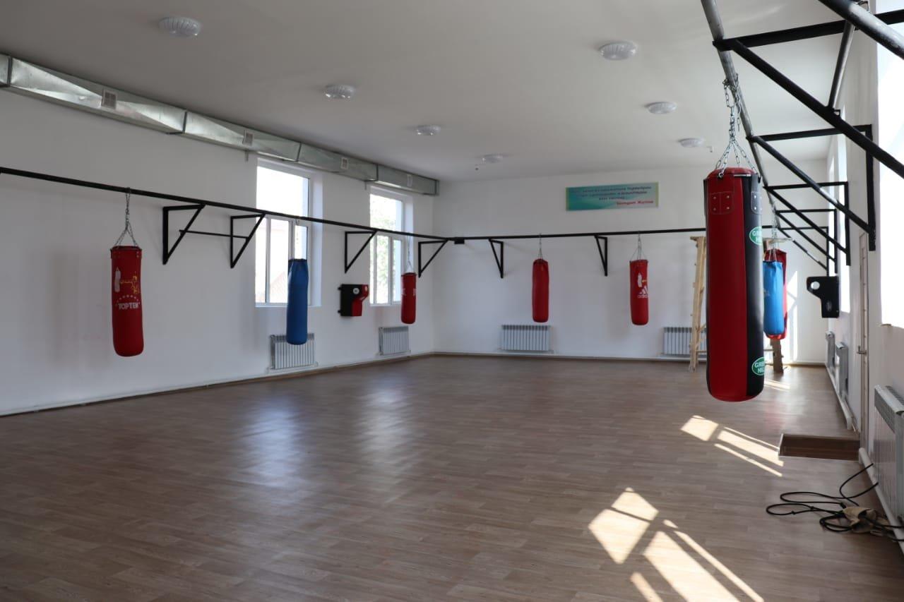 В Мангистауском районе отремонтировали спортивные объекты, фото-1