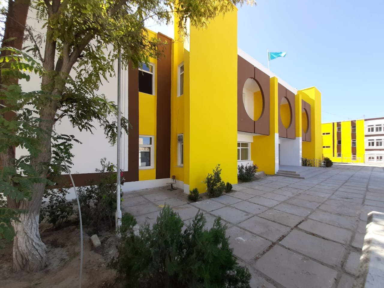 В двух школах Актау провели капитальный ремонт, фото-1