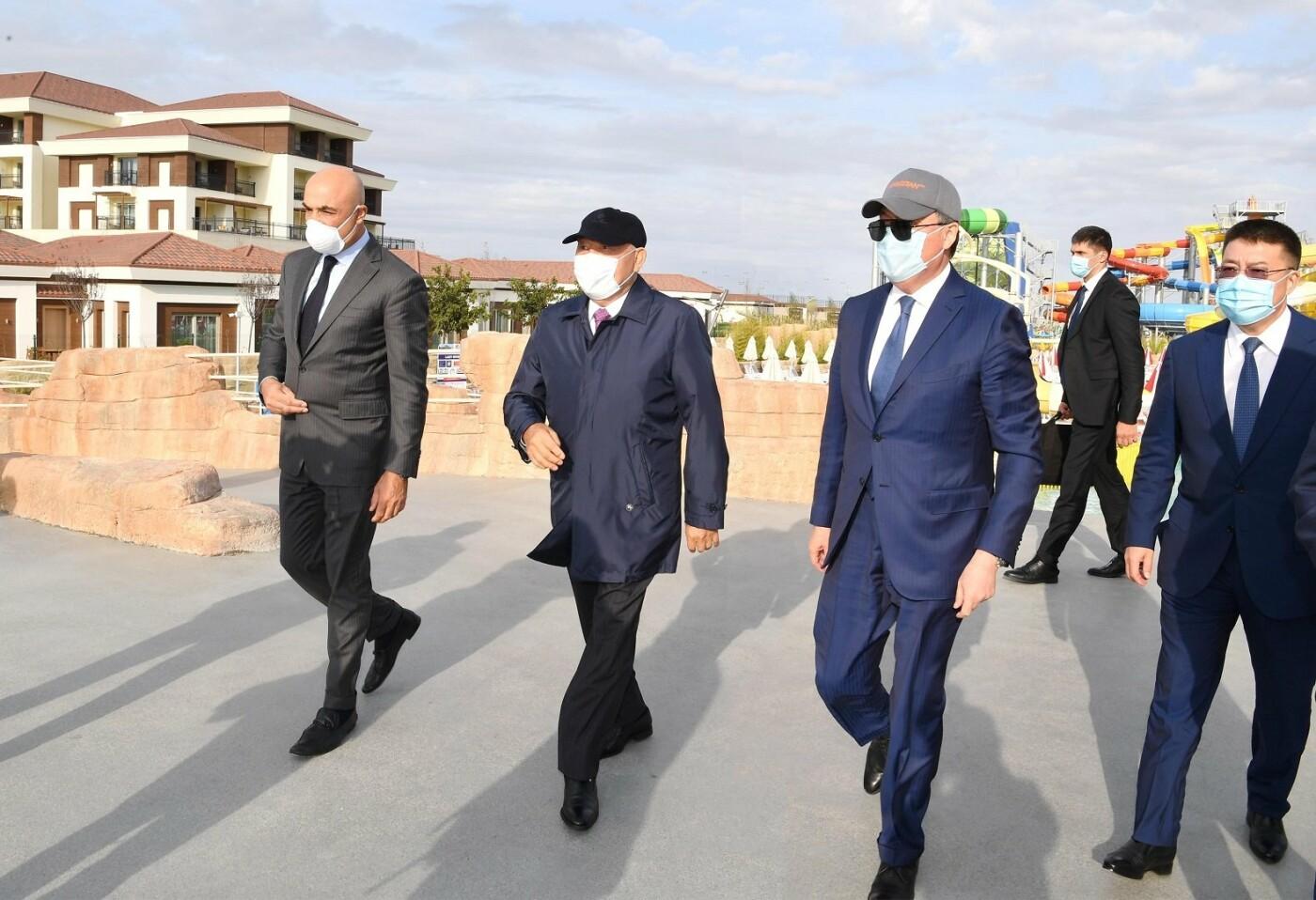 Назарбаеву представили проект туристического хаба на берегу Каспия, фото-1