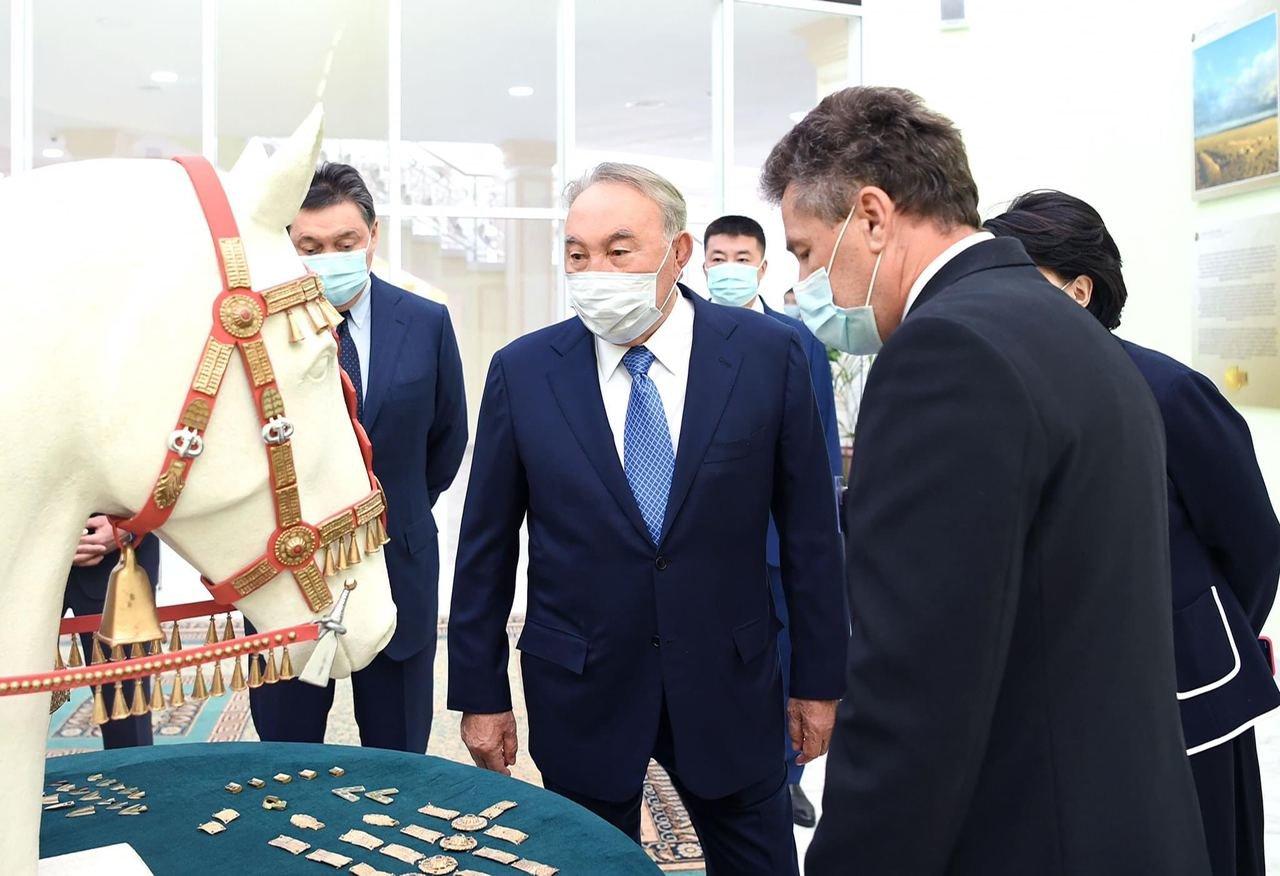 Елбасы посетил музей имени Абиша Кекилбаева, фото-2