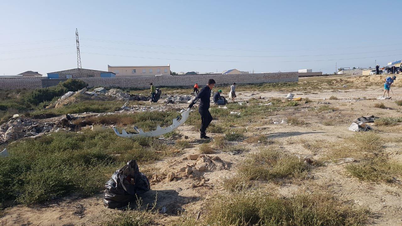 """Три """"КАМАЗа"""" отходов собрали жители Актау у Малой Оймаши, фото-3"""