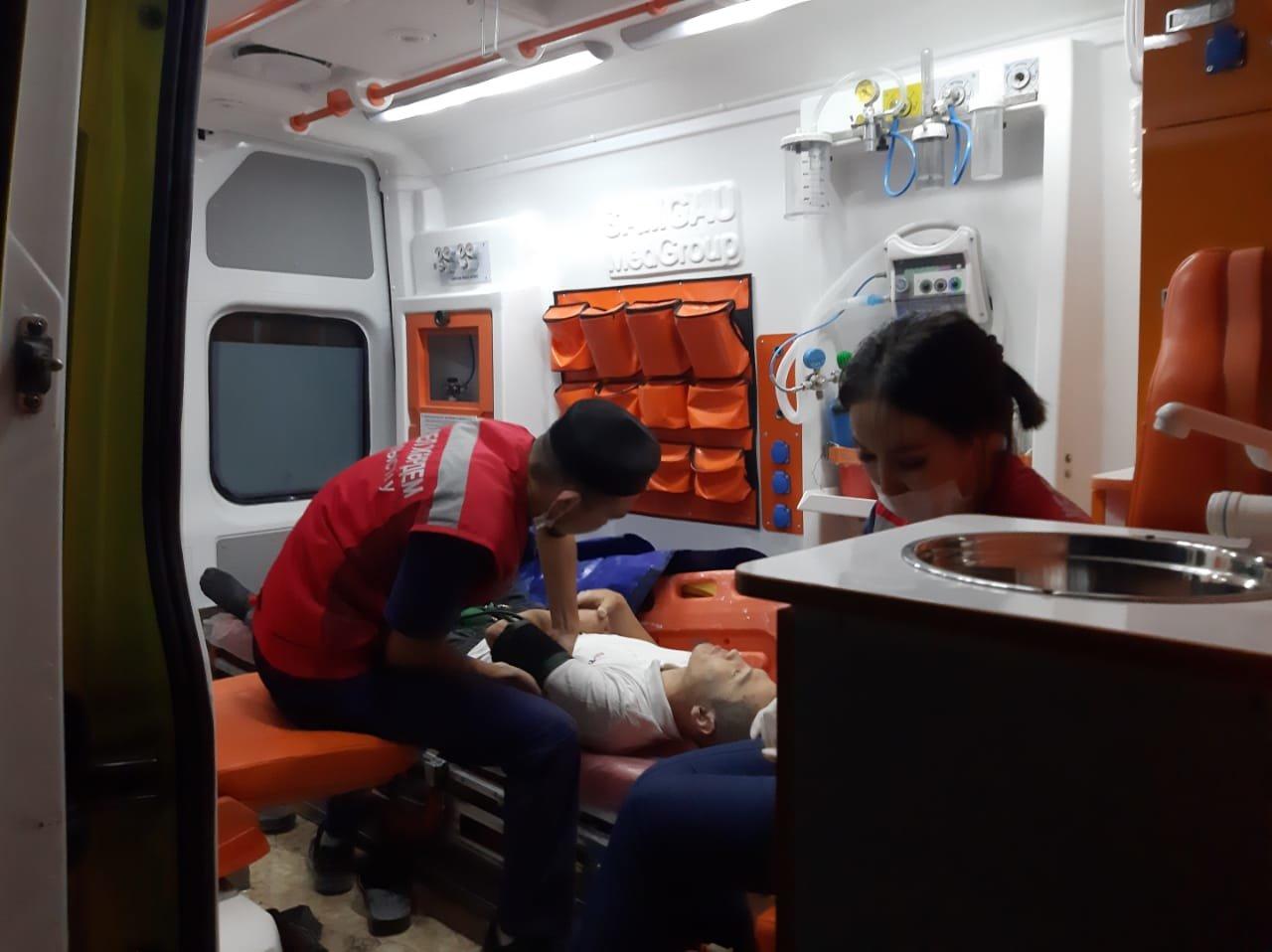 В Мангистау планировавший на дельтаплане мужчина упал в обрыв и сломал руки, фото-7