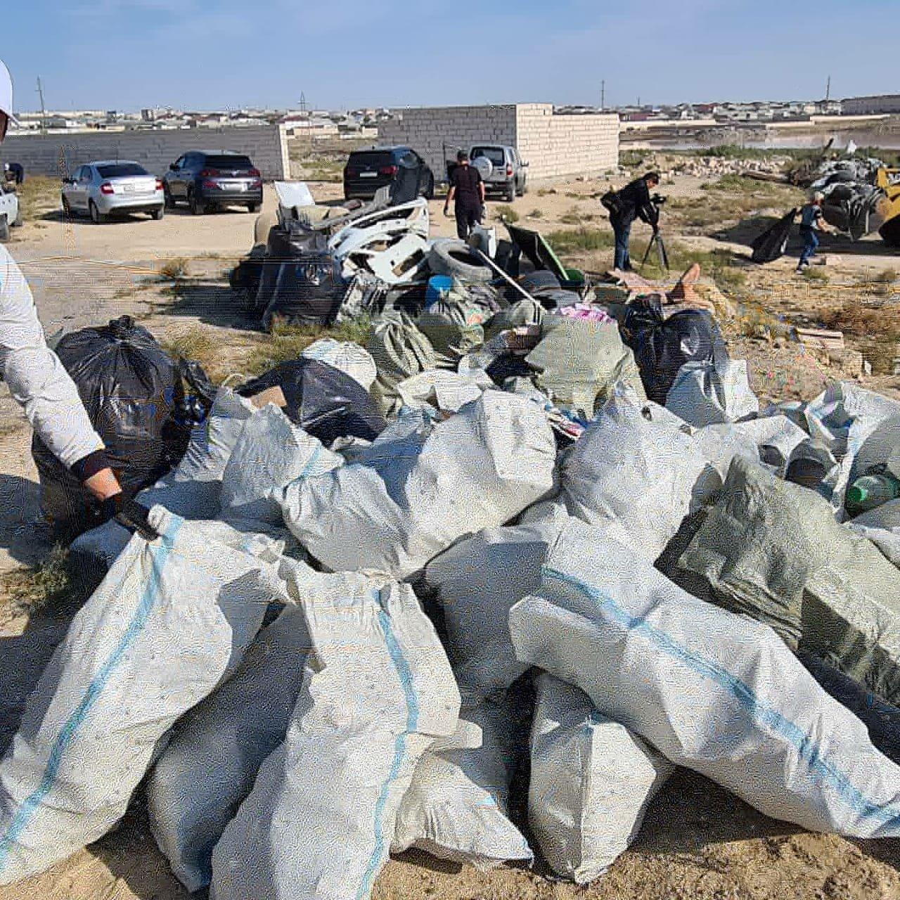 Мангистаусцы приняли участие в глобальной уборке «World cleanup Day», фото-6