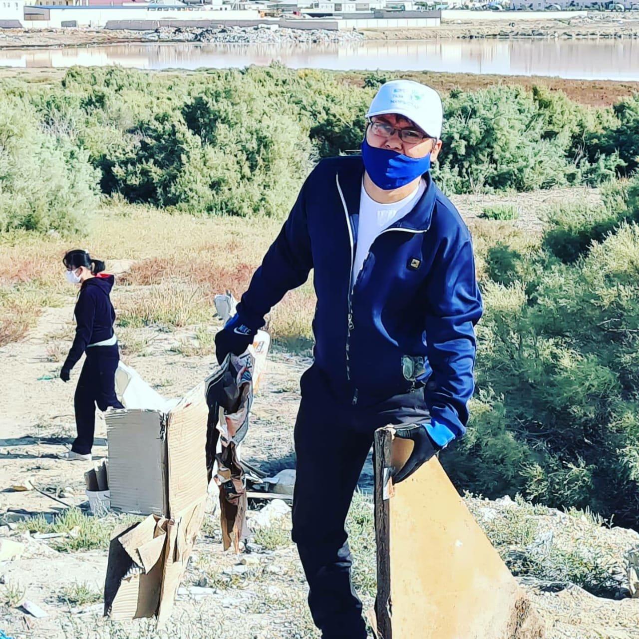 Мангистаусцы приняли участие в глобальной уборке «World cleanup Day», фото-2