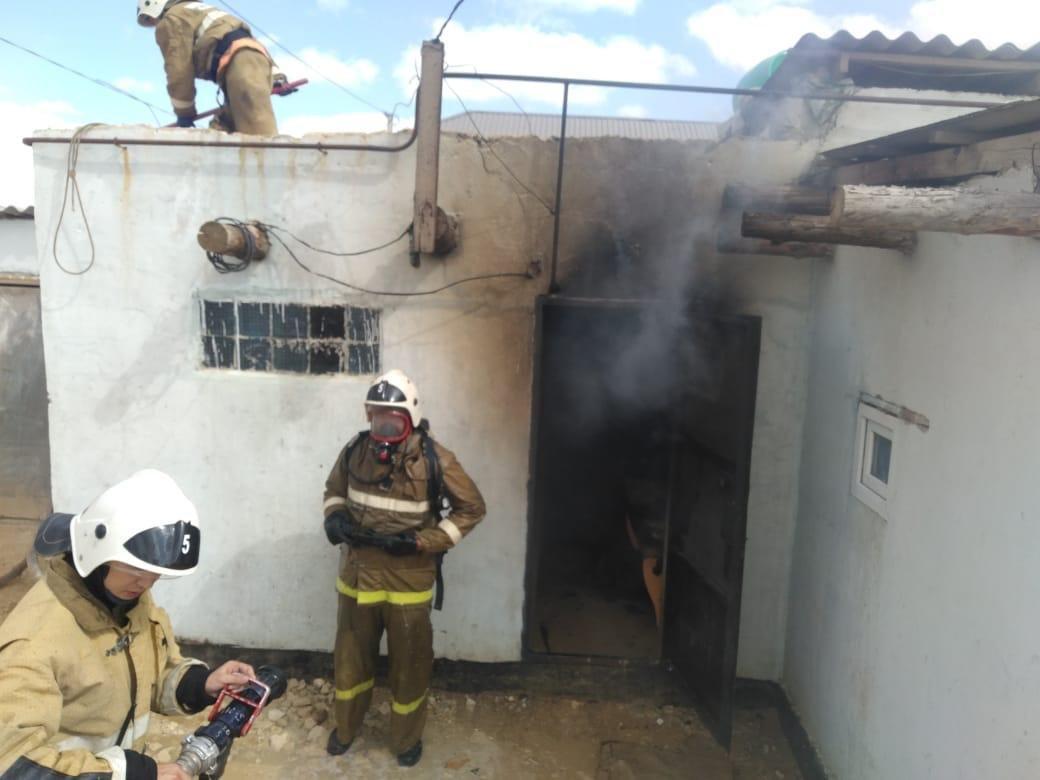 Хроника пожаров за неделю в Мангистау, фото-2