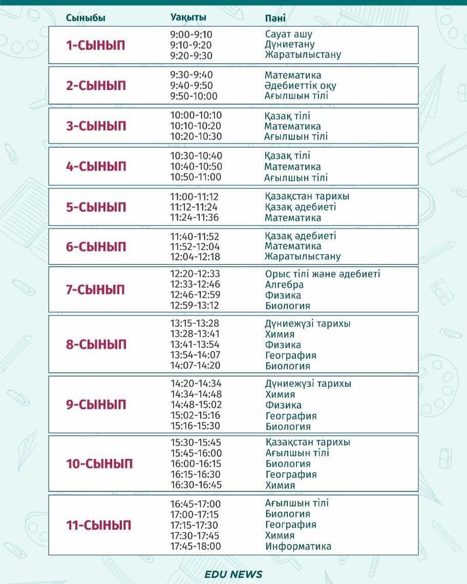 Расписание уроков для 1-11 классов на 16 октября, фото-1