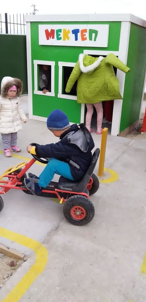 Детский городок в Баутино