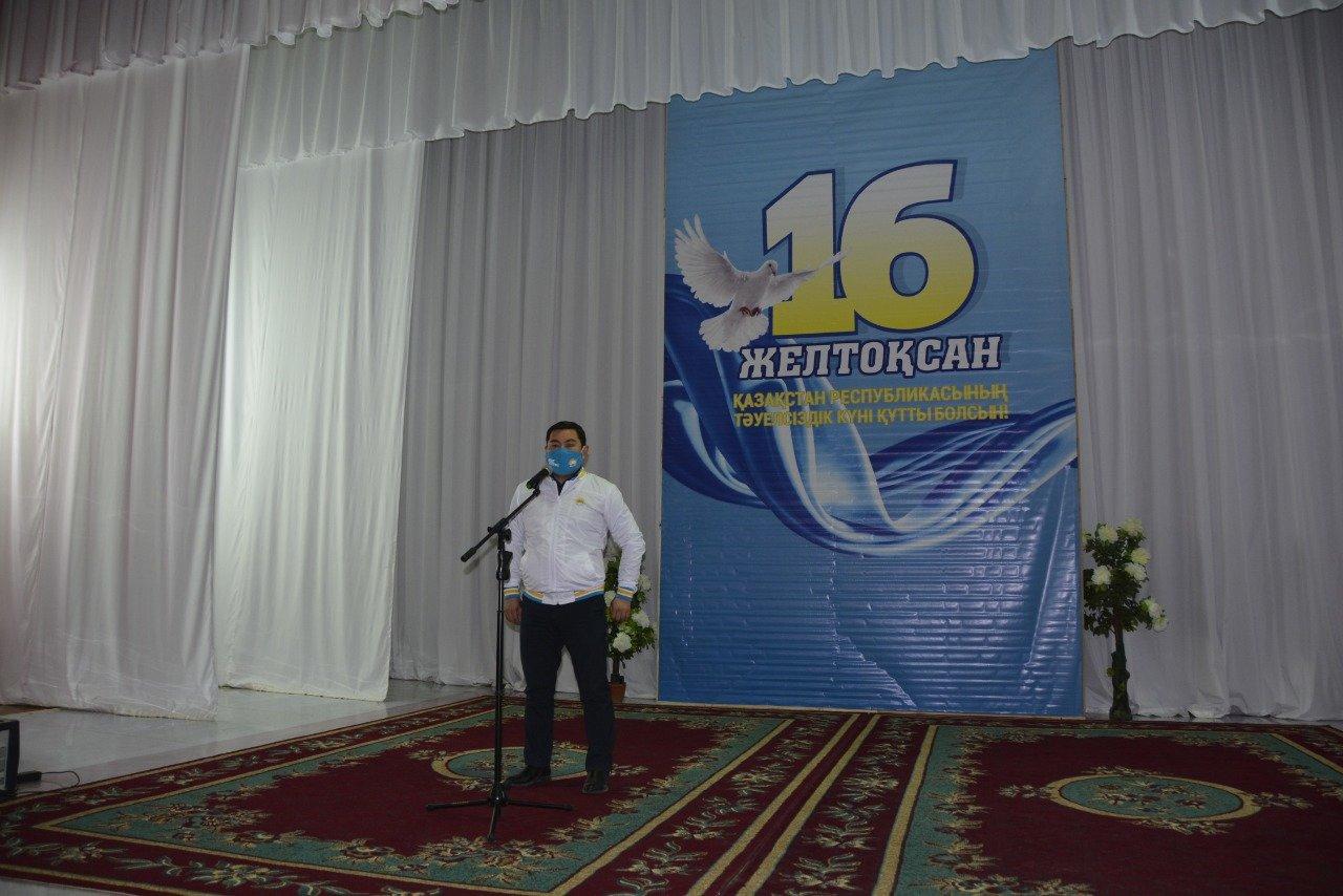 Встреча с коллективом АО «Каражанбасмунай», фото-1
