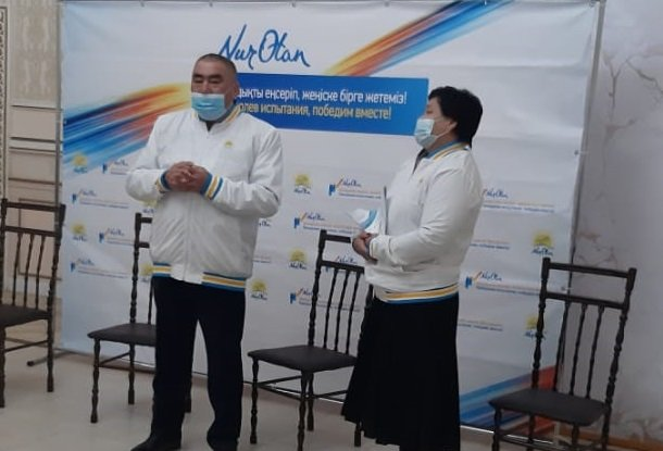 В Жетыбае прошла экспромт-встреча с членами партийных первичных организаций   , фото-3