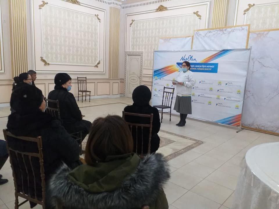 В Жетыбае прошла экспромт-встреча с членами партийных первичных организаций   , фото-2