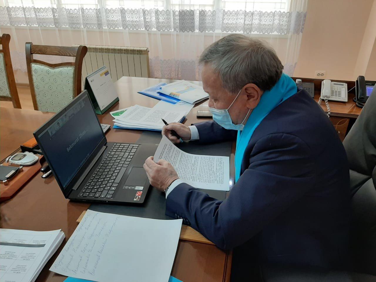 Nur Otan: Повысим благосостояние жителей района, фото-1