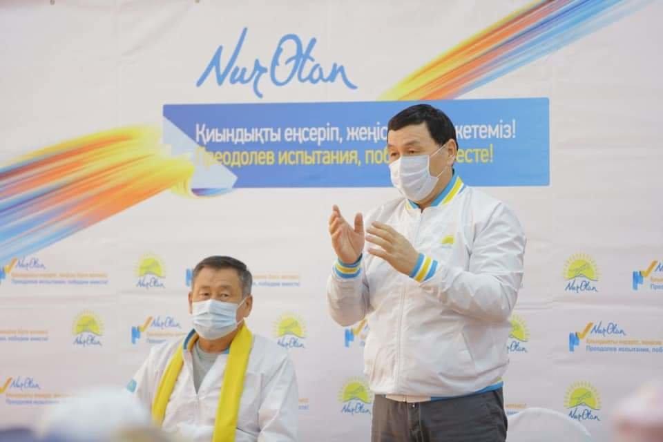 Nur Otan: Улучшим качество дорог, обеспечим качественной питьевой водой, фото-3