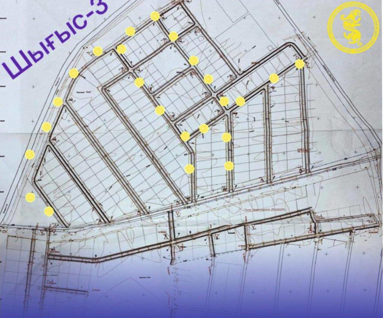 Как будет строиться дорога в микрорайонах «Шыгыс-2, 3»