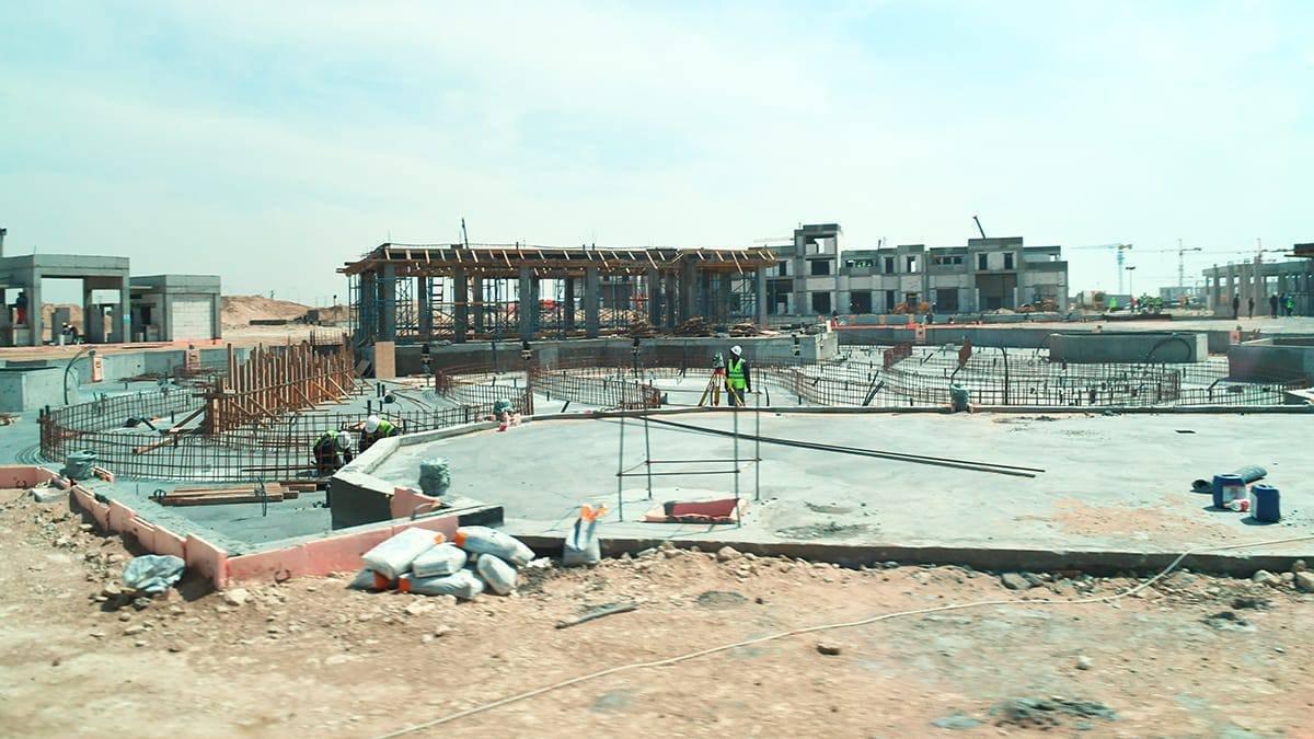 Строительство объекта в Мангистауской области