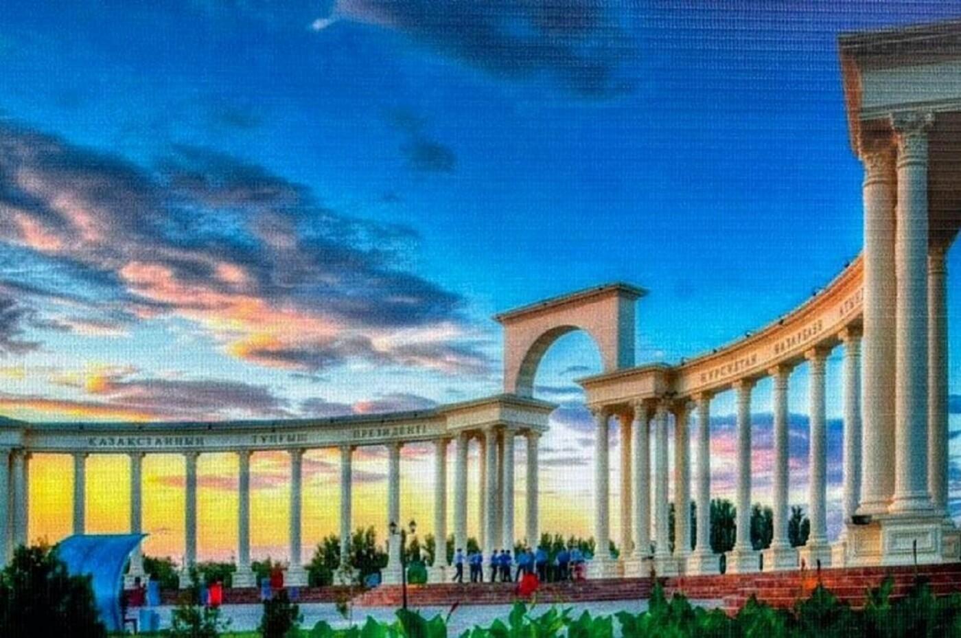В Актау началось строительство парка первого президента РК, фото-1