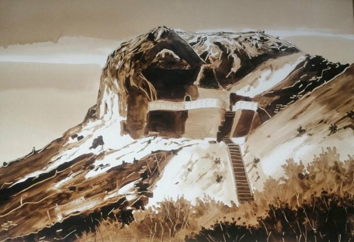 Художники в Актау рисуют пейзажи нефтью, фото-1